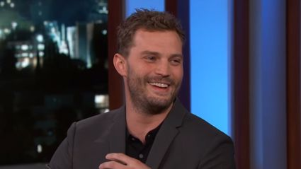 Fifty Shades star Jamie Dornan hilariously describes awkward 'wee-bag' he wore during filming