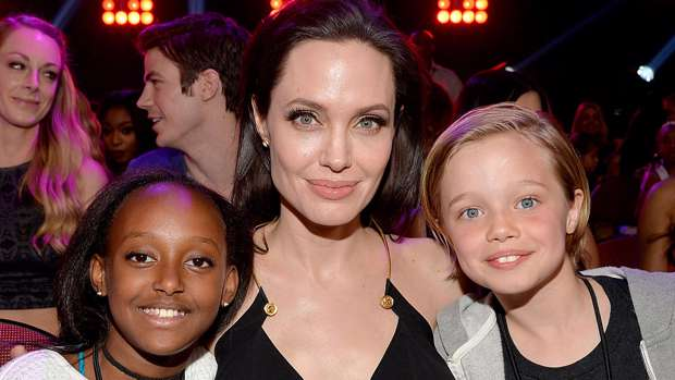 Angelina Jolie's daughters are all grown up!