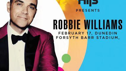 DUNEDIN: WIN 4 TICKETS TO ROBBIE WILLIAMS!