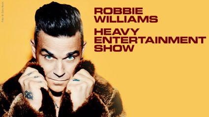 WIN tickets and accommodation for Robbie Williams!