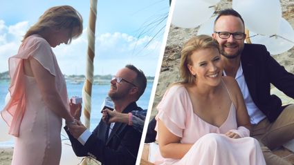 Flynny's reason for re-proposing to his wife Natalie will melt your heart