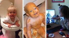 Here's what happens when you leave toddlers alone for two seconds