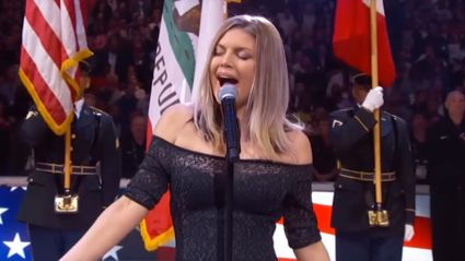 Fergie is being slammed over 'awful' US national anthem performance