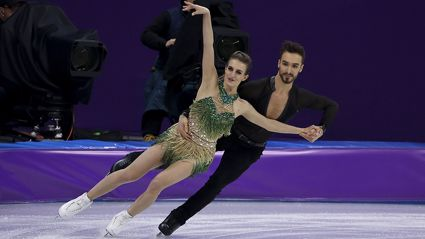 Winter Olympics figure skater left red-faced after x-rated wardrobe malfunction