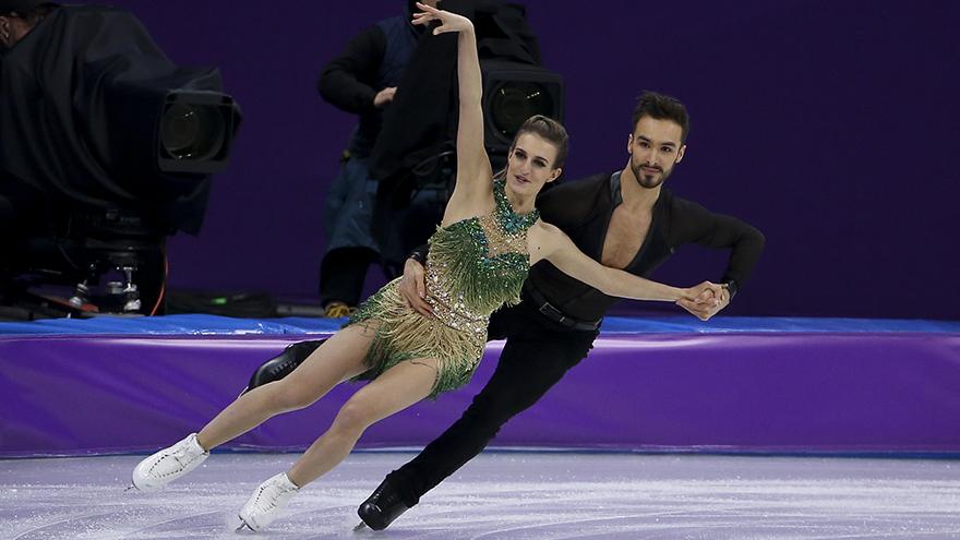 Boob in olympics shot