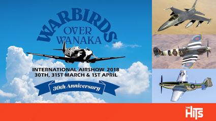WIN Warbirds Over Wanaka Family Passes!
