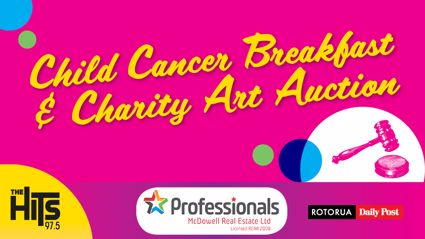 Child Cancer Charity Breakfast & Art Auction