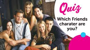 Which 'Friends' character are you?