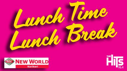 Win a Lunch Time Lunch Break thanks to Kerikeri New World