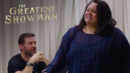 Keala Settle behind the scenes 'This is Me' performance