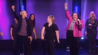Watch Maori star Keala Settle's breath-taking performance on Ellen