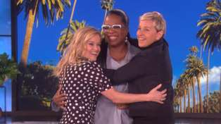 Watch Reese Witherspoon and Ellen DeGeneres battle over Oprah Winfrey's friendship