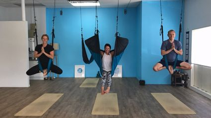 Try it Out Tuesday - Aerial Yoga