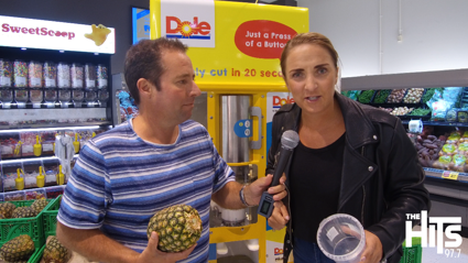 We check out New World's new Pineapple machine!