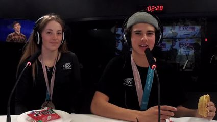 Stace & Flynny chat to winning Kiwi Olympians Zoi Sadowski-Synnott and Nico Porteous