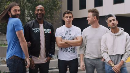 Watch the new Fab 5 from Queer Eye For The Straight Guy give an amazing makeover