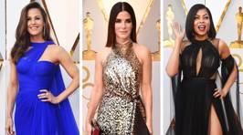 These are the most STUNNING looks from the 2018 Oscars red carpet