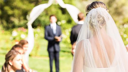 The latest wedding dress trend is absolutely stunning!