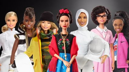 Bindi Irwin and other famous females made into a Barbie dolls to celebrate International Women's Day