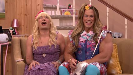 Watch John Cena in the latest edition of Jimmy Fallon's 'Ew!'