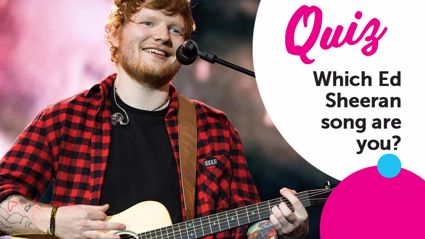 QUIZ: Which Ed Sheeran song are you?