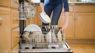 This is why you shouldn't rinse your dirty dishes before putting them in the dishwasher...