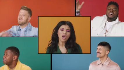 Pentatonix take on 'Attention' - and it sounds AWESOME!