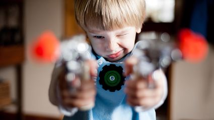 Kiwi childcare chain launches 'gun kit' for kids...