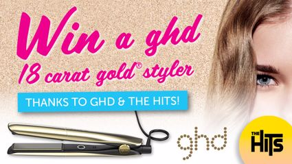Win a ghd 18 carat gold styler with Sarah, Sam and Toni