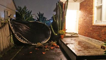 """Live updates: Auckland's wild weather brings """"hurricane-force"""" winds and leaves thousands without power"""