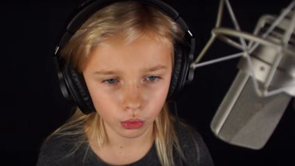11-year-old wows with breathtaking cover of Metallica's hit 'Nothing Else Matters'!