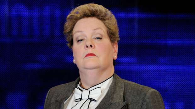 The Chase star blasts viewer: 'Don't be such a sad f*****!'