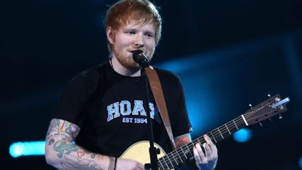 Ed Sheeran performs heartwarming rendition of Elton John's 'Candle In The Wind'!