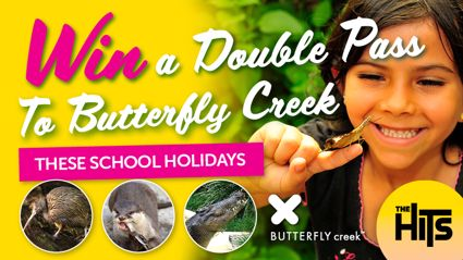 Win a double pass to Butterfly Creek!