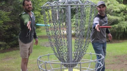 Disc Golf South hosting a big tournament this weekend!