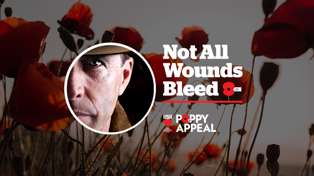 Pin a Poppy to support our veterans