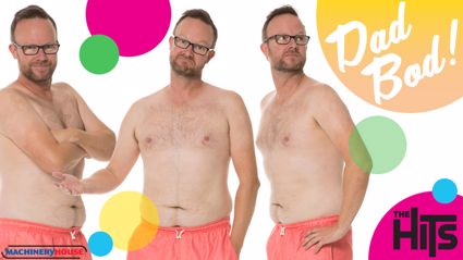 This is the Kiwi bloke with the BEST Dad Bod in New Zealand as voted for by YOU!