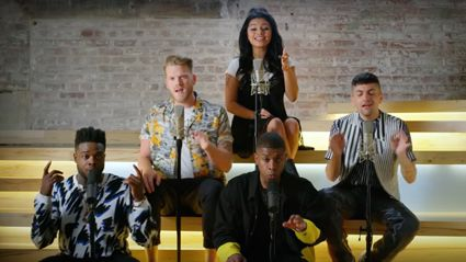 Pentatonix release pop medley of all the songs from their new album - and it will blow you away!