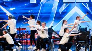 Britain's Got Talent judges moved to tears over Manchester bombing survivor's dance in wheelchair