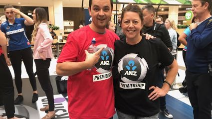ANZ Netball Premiership Launch - Ultimate Shoot Off