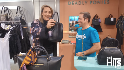 We finally purchase the Deadly Ponies handbag!