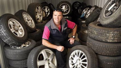 Zebra U Pick Car Parts donates four wheels to Whangarei widow after theft