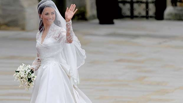 6619fe2522ab77 Kate Middleton had a second wedding dress we didn t see - and it is  stunning!