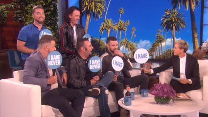 *NSYNC star Justin Timberlake reveals he once 'hooked up' with a Spice Girl