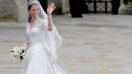 The lace on Kate Middleton's wedding dress featured a secret tribute...