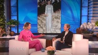 Sarah Paulson with Ellen