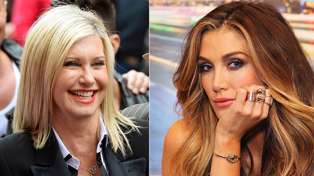 Australia has had their first look at Delta Goodrem as Olivia Newton-John - and they are NOT impressed...