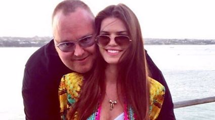 Kim Dotcom and wife Liz share exciting baby news...
