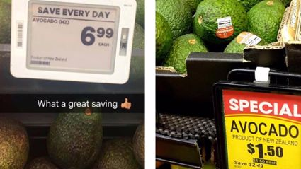 Why are New Zealand avocados $6.99 here and only $1.50 in Aussie?