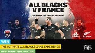 WIN THE ULTIMATE ALL BLACKS GAME EXPERIENCE